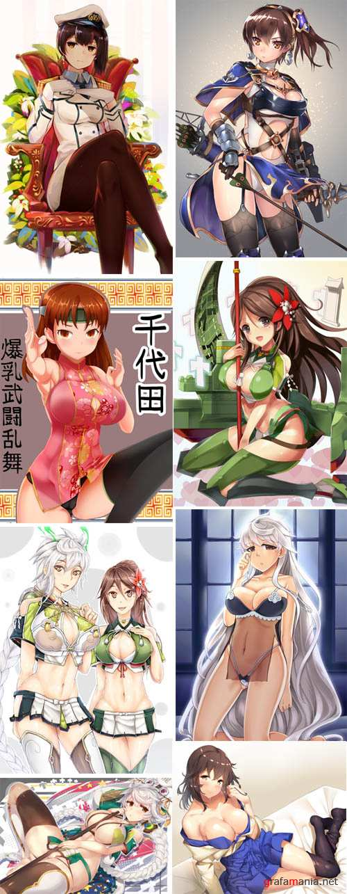Kancolle set 2  Carriers