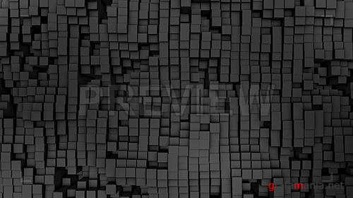 MA - 3D Gray Squares 81310