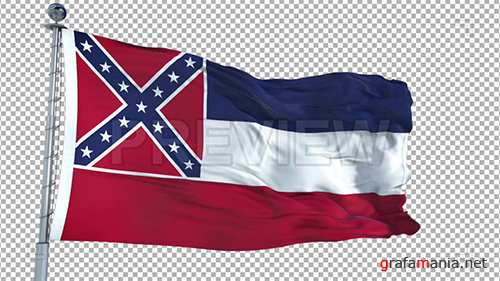 MA - Mississippi Flag 73940