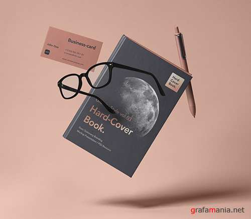 Gravity Book Mockup Hardcover 3