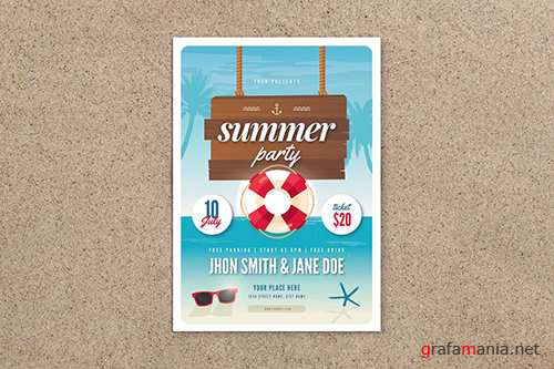 Summer Party Flyer 02