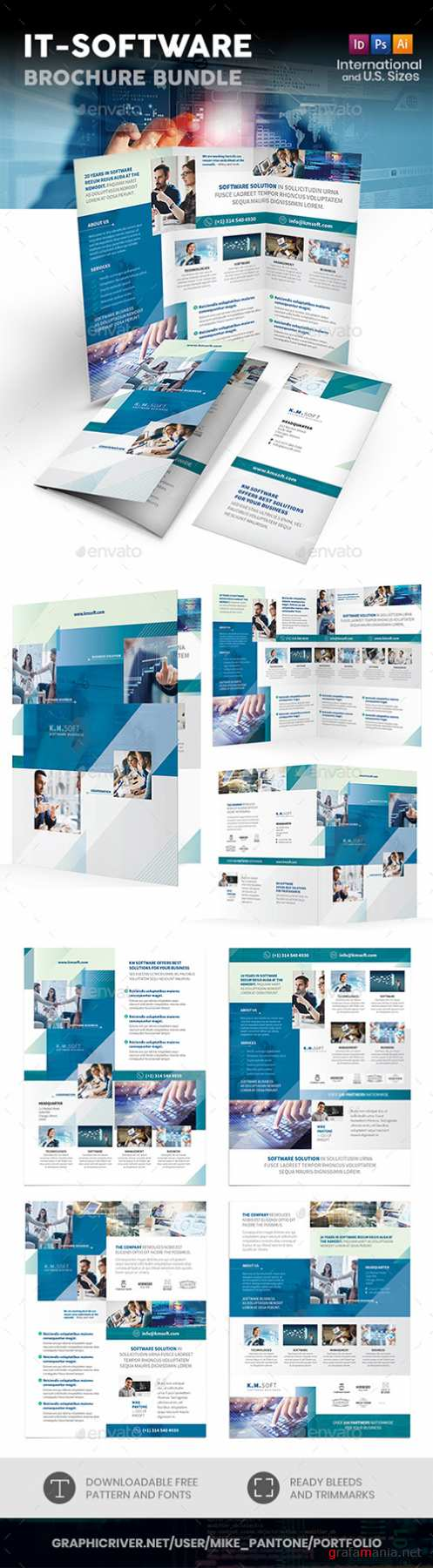 GR - IT – Software Company Print Bundle 22021413
