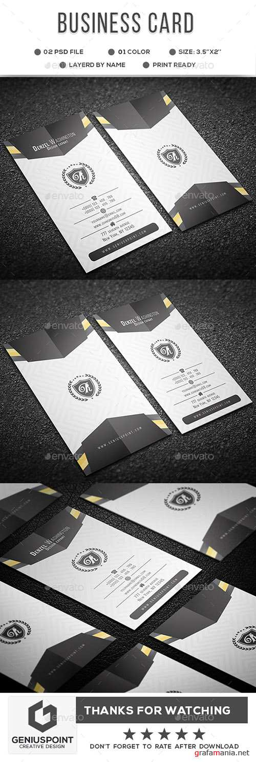 GR - Business Card 22010209