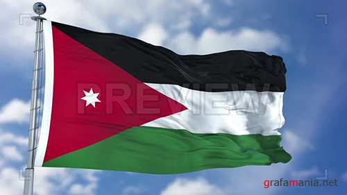 MA - Jordan Flag Animation 73640