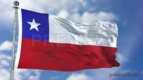 MA - Chile Flag Animation 73435