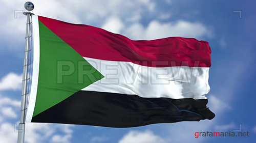 MA - Sudan Flag Animation 74382