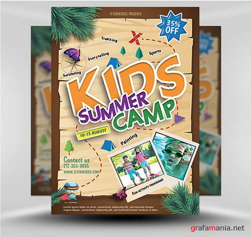 PSD Summer Camp Flyer 4