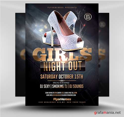PSD Ladies Night Flyer 2