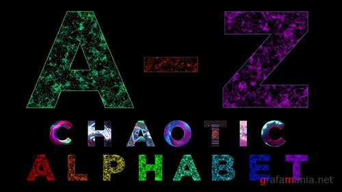 MA - Animated Alphabet Chaotic Style Part 1 87706