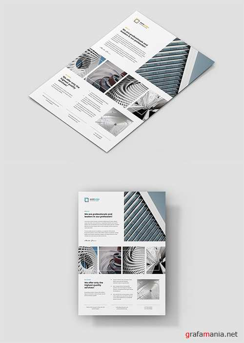 Flyer – Architect and Builder Portfolio