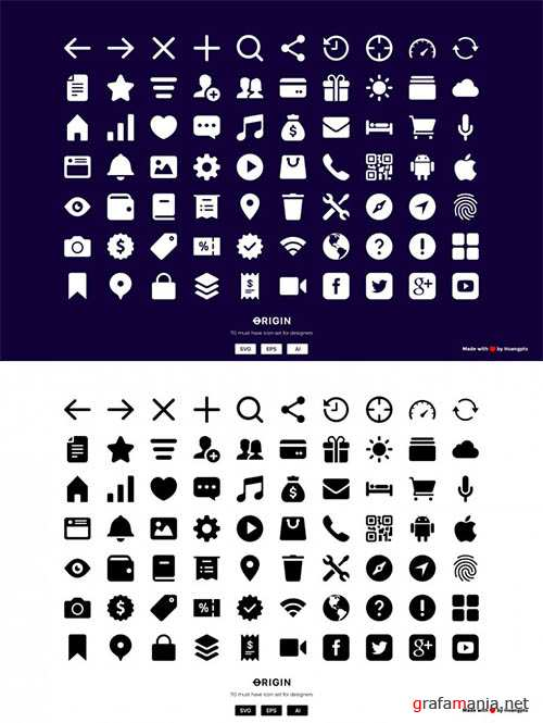 70 MUST HAVE Interface icon sets 110706