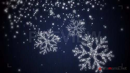 MA - Snowflake Particles Background 86634