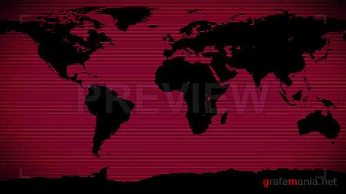 MA - Red World Background 86696