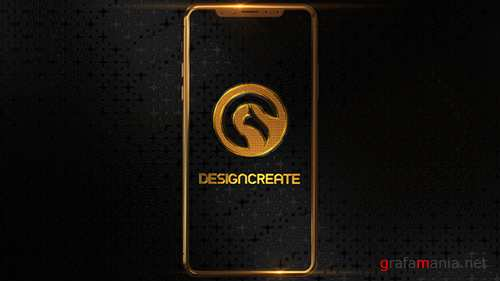 Phone X Gold Logo 20983667
