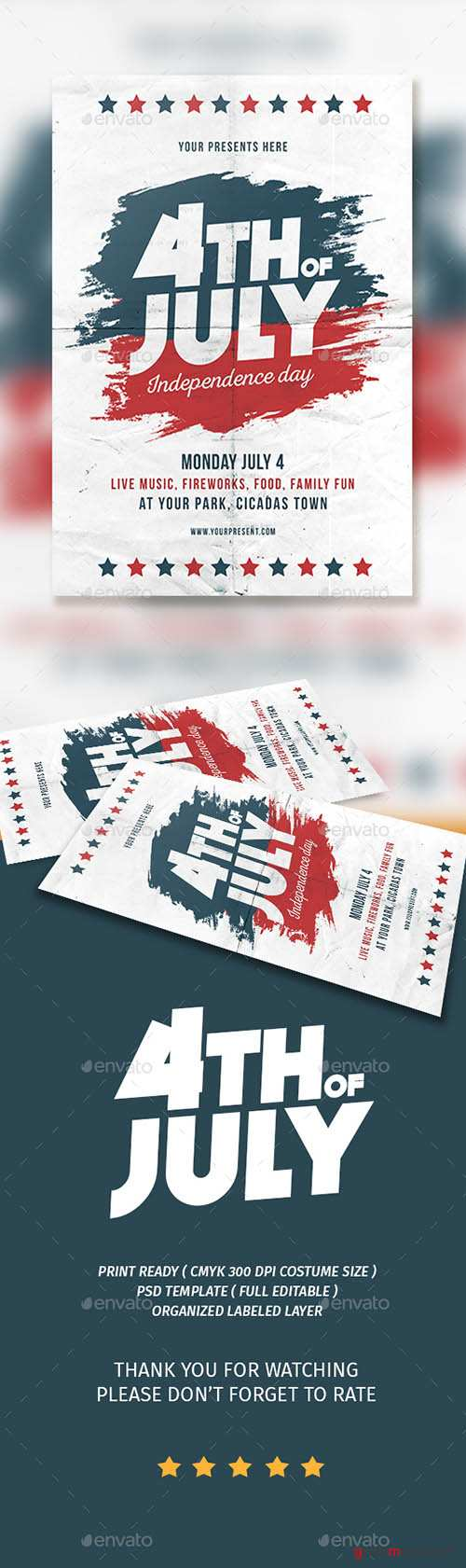 GR - 4th of JULY Flyer 16695233