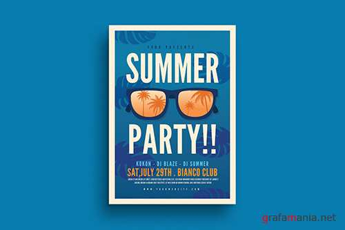 PSD - Summer Party Flyer
