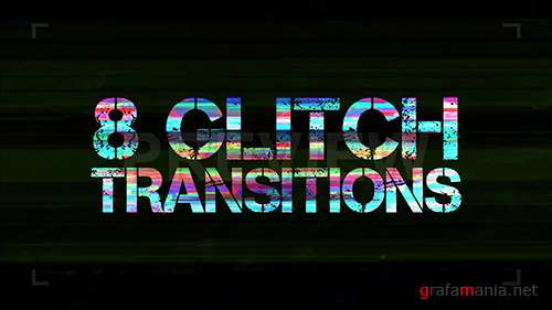 MA - 8 Glitch Transitions Pack 87578