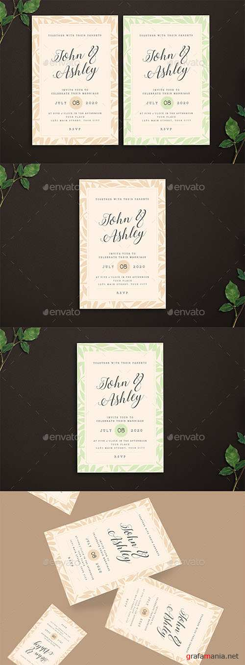 GR - Wedding Invitation 22225057