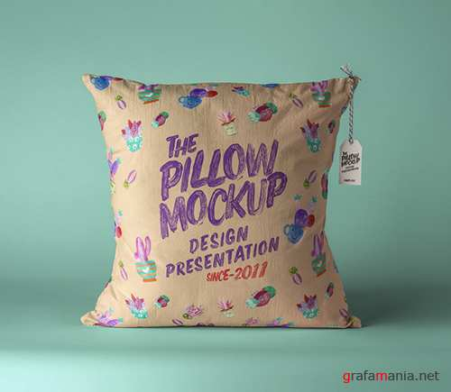 Pillow Mockup Presentation