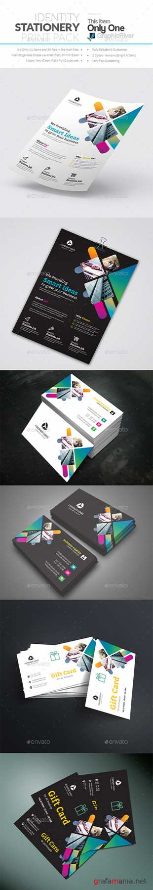 GR - Corporate Identity Stationery Print Pack 22301690