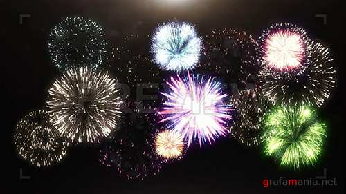 MA - 3D Animation Of Fireworks 99968