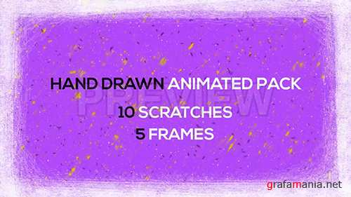 MA - Hand Drawn Scratches and Frames 96735
