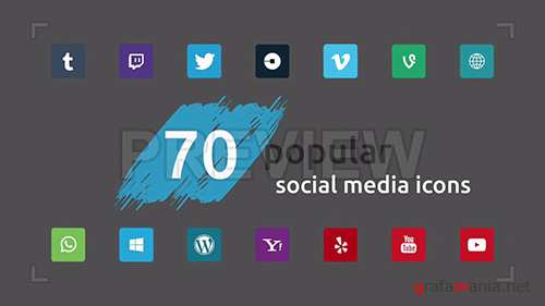 MA - Social Media Icons Pack 1 96440