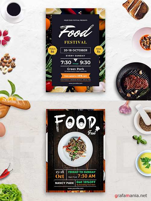 Food Festival Flyers