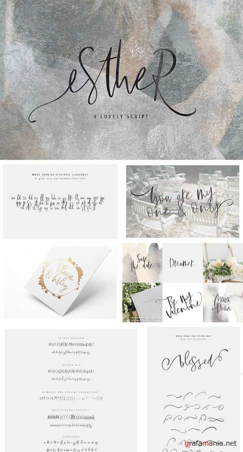 Esther | A Lovely Script 2231560