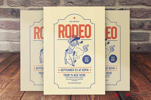 Rodeo Flyer PSD