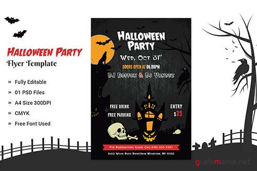 Halloween Party Flyer - 04