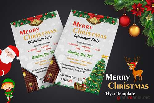 Christmas Night Party Flyer - 02