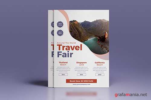 PSD Travel Fair Flyer