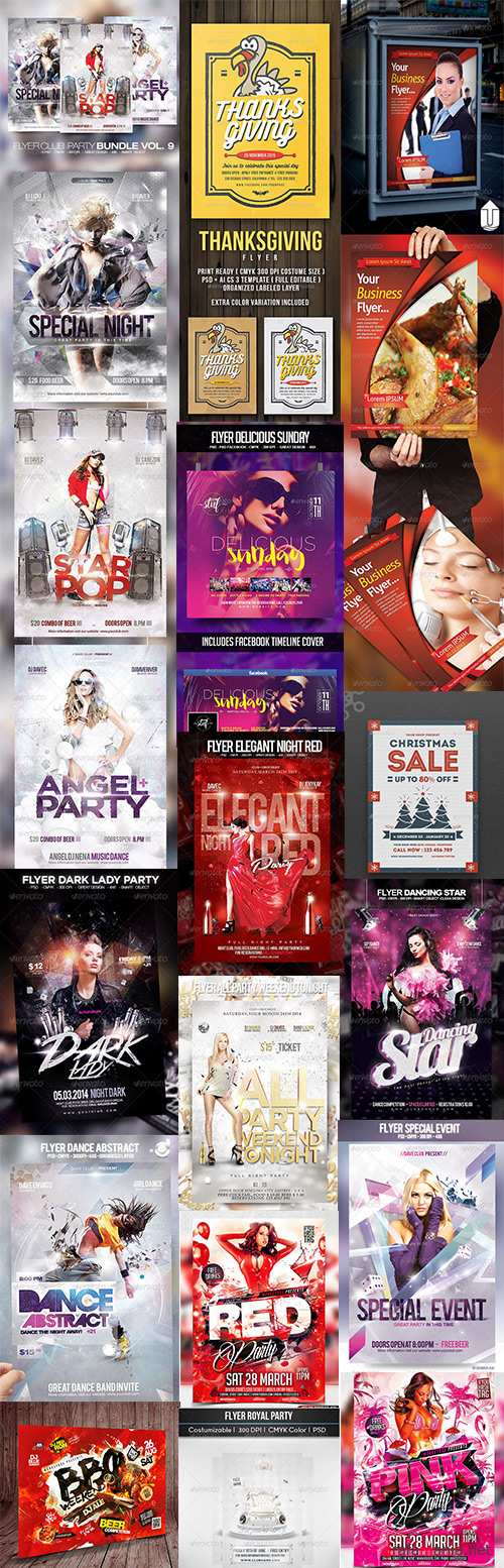Big Flyers Bundle Vol.2 2018