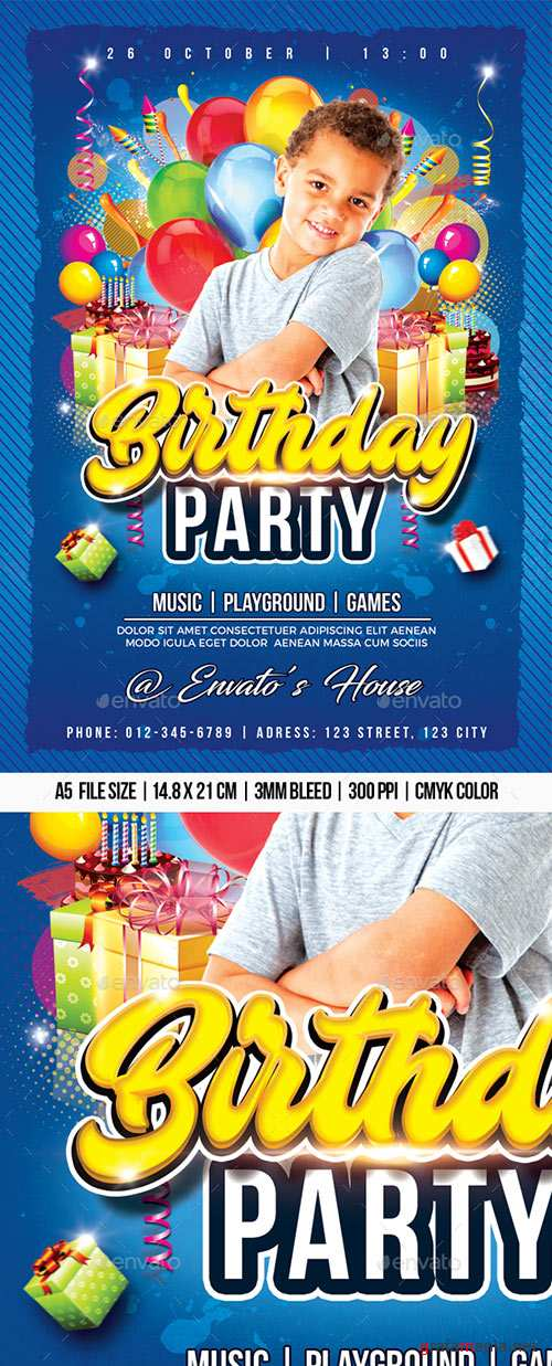 GraphicRiver - Birthday Party 22471652