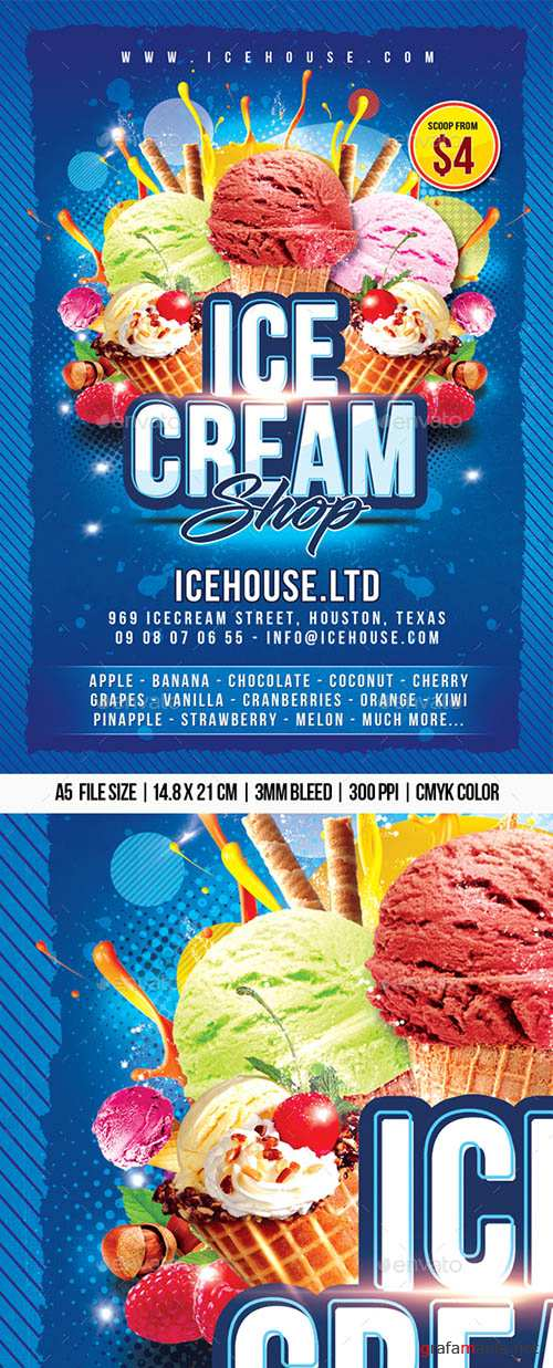 GraphicRiver - Ice-cream Shop 22475507