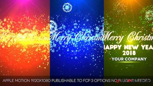 Videohive - Merry Christmas 13793131
