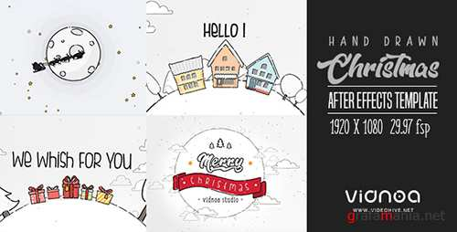 Videohive - Hand Drawn Christmas 21087583