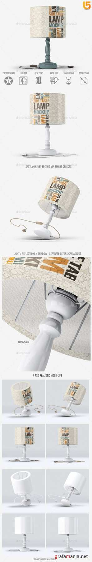GR - Table Lamp Mock-Up 22834286