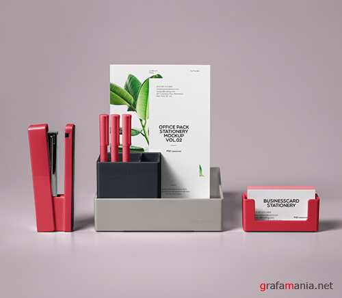 Stationery Office Pack Mockup Vol 2