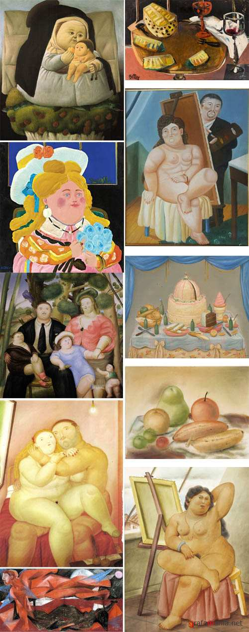 Paintings of Fernando Botero
