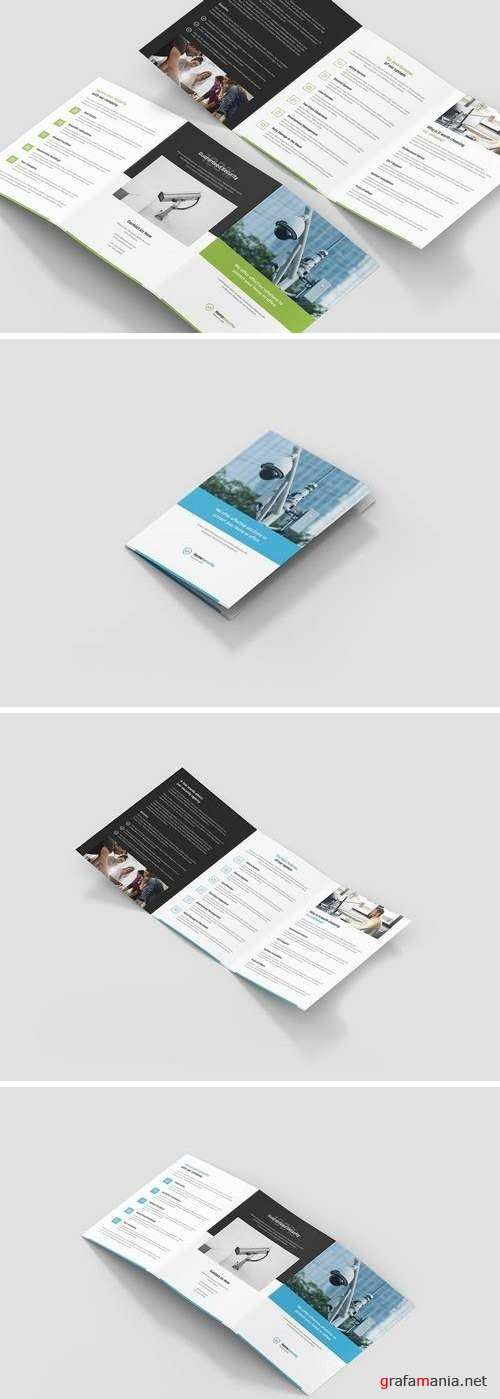 Brochure – Home Security Tri-Fold A5