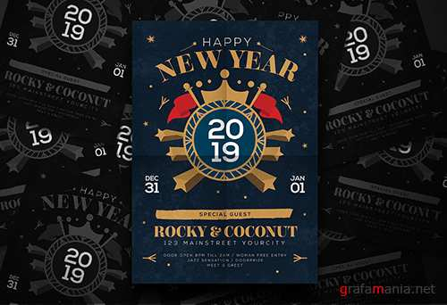 New Year Flyer 2019