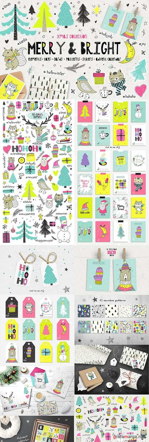 Merry & Bright Xmas - holiday set 2082268