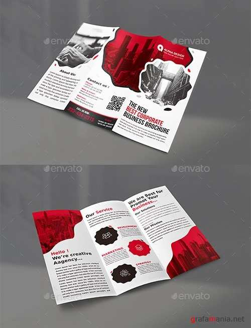Graphicriver - Clean Tri-fold Brochure 22117442