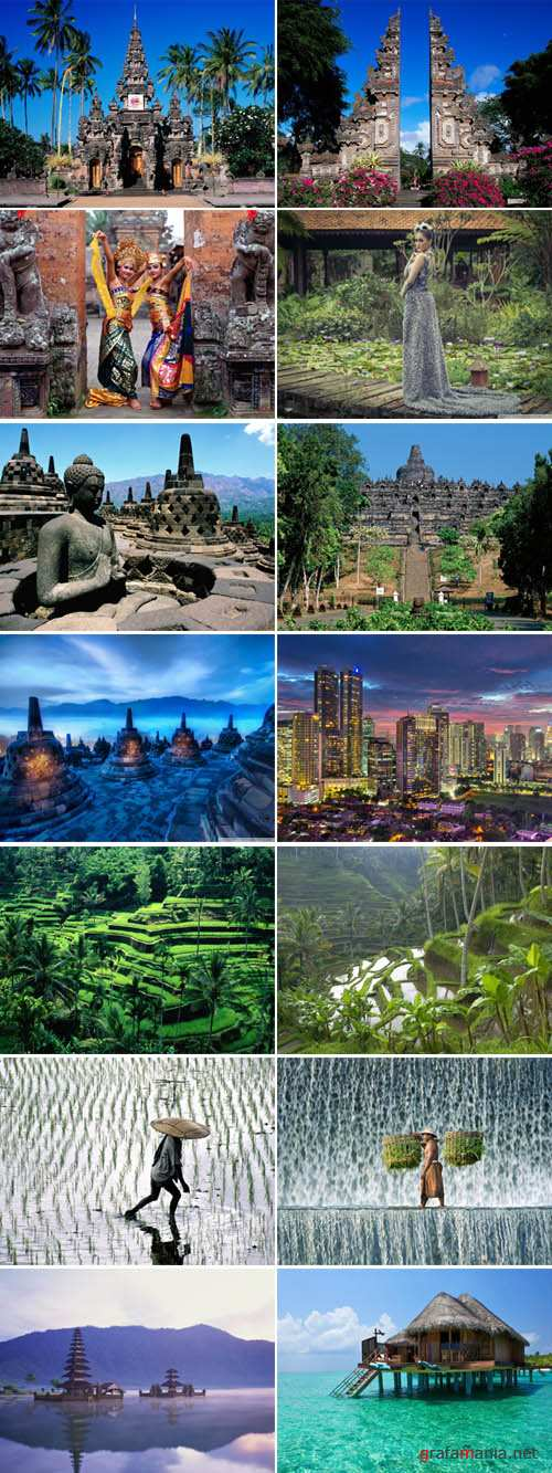 Countrys of Asia - Indonesia