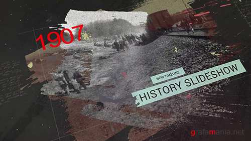 MA - The History Timeline Slideshow 137857