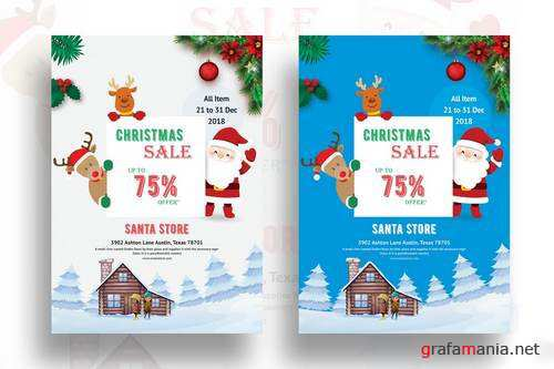 Christmas Sales Promotion Flyer-02