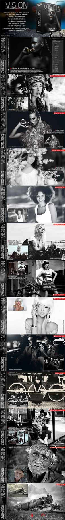 GraphicRiver - Actions for Photoshop Vision 22720644