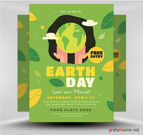 PSD Earth Day 1